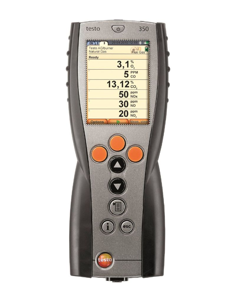 Testo 350 - Control Unit for exhaust gas analysis systems - Call for pricing